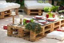 RECICLAR PALETS y CAJAS DE MADERA (pallets & wooden boxes reciclying) / by EL TESO GOURMET