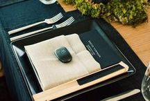 DECORACION DE LA MESA (table settings) / #ideas #eventos #fiestas / by EL TESO GOURMET