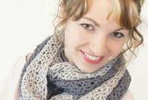Crochet - Scarf, Infinity & Cowl Free Patterns / by Melodie Willson