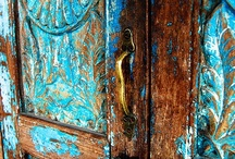 """The Doors / """"When you follow your bliss...doors will open where you would not have thought there would be doors; and where there wouldn't be a door for anyone else.""""  ~Joseph Campbell"""