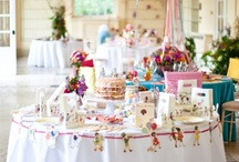 Belle and Boo Party / We love the charming illustrations on our Belle & Boo partyware.