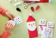 Christmas Crafts and Parties / So many lovely, lovely ideas for Christmas crafts, baking and parties.