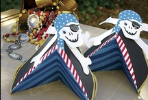 Pirate Party / Yo-ho-ho! A pirate party is always a successful theme for both boys and girls.