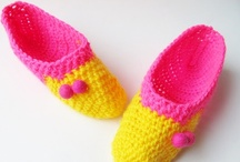 crochet BOOTIES/SLIPPERS