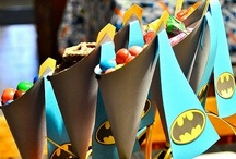 Batman Party / Every superhero needs a cape, which makes Batman one of our all time favourite super heroes. He's a very popular party choice too.