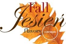 Jesień flavors - Fall flavors @ canapa