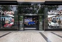 PEUGEOT AVENUE / p a r i s / Peugeot Avenue is the Showcase of the Champs Elysées in Paris, come to see the exhibiton of the moment !  / by Peugeot Official