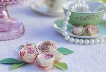 Pastries & Pearls Afternoon Tea / Everything elegant for your pastries and pearls themed afternoon tea party.