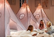 Sleepover Parties / Some fabulous ideas for sleepover and slumber parties.