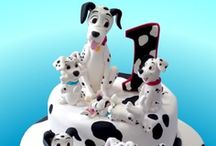 101 Dalmatians Party / Lots of ideas for a dog themed birthday party with the adorable 101 Dalmatians puppies!