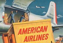 Airlines Posters / Vintage Airline posters
