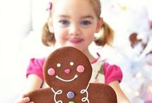 Children's Christmas Baking / Lots and lots of delicious ideas for Children's Christmas Baking