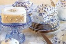 Blue & White Afternoon Tea / Our Delftware inspired blue and white afternoon tea range is fresh and elegant.
