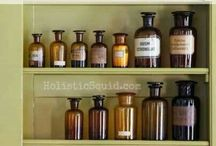 heal. / Herbal apothecary and natural remedies.