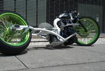 Motorcycles / Less than 4 wheels.