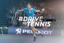s p o r t / T E N N I S / Peugeot is partnership of tennis  / by Peugeot Official