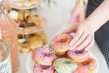 Doughnuts Party / Mmmmm! What could be tastier at a party than doughnuts with pretty sugar sprinkles?