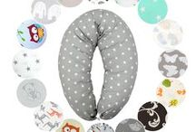 Stillkissen von  HOBEA / Entspannter Schlafen und Stillen mit dem Stillkissen von HOBEA-Germany  Das Schwangerschaftskissen ist vielfältig einsetzbar - ob als Stillkissen, Lagerungskissen oder Nackenkissen :)  In vielen verschiedenen Designs und Farben erhältlich!