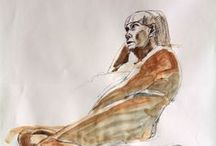 Life Drawing Thursday 29 October 2015 Model Helen