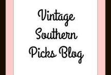 Vintage Southern Picks Blog / Posts from the VintageSouthernPicks blog~ where I show my latest vintage finds, DIY projects, and showing mystery items.
