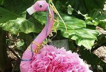 Flamingo Party Ideas / Get tropical this summer with our Fabulous Flamingo party ideas.