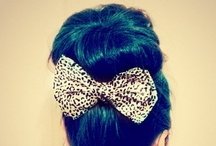 hair inspirations / by Tiffany Han