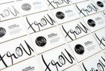 Logo & Branding Inspiration / logo design, graphic design, branding, entrepreneur, solopreneur, creative business, girlboss, boss lady, style guide, fonts, typography, business, design inspiration, blogger, blogging, business coach, business strategy