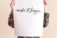 Lettering & Font Love / logo design, graphic design, web design, brand, branding, entrepreneur, solopreneur, creative business, girlboss, boss lady, fonts, typography, lettering, business, design inspiration, blogger, blogging, script, handwritten font, sans serif, serif