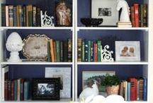 DIY - Decor Bookcs / Firepl