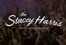 Brand / Stacey / Brand strategy, brand identity, branding, mood board for The Stacey Harris