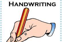 Handwriting / by Kelsey Fairbairn