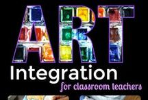 Art Integration / Collaboration board full of useful art integration lessons as well as helpful hands on learning resources and ideas to keep learning relevant and fun in the 21st Century. Collaborators create original resources and curate great ideas to help inspire and motivate you as a hero…err, I mean teacher! If you'd like to be a collaborator and share your great ideas and fun finds please e-mail me at artwithjennyk@yahoo.com