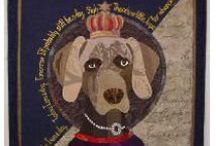 Quilts ~ Artist:  Pauline Salzman / by Virginia Robinson