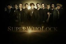 SuperWhoLock / SuperWhoLock, the fandom where the TV series 'Supernatural', 'Doctor Who', and 'Sherlock' come together into one big crossover!! >.< I think this is a pretty neat idea!! (I'm a HUGE lover for this!! :D) If you loves this fandom (and MLP and Steven Universe) we must be friends!! x3 / by LilyAnnie