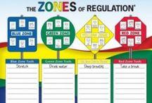Zones of Regulation / by Kelsey Fairbairn