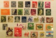 Selos - postage stamps / selos - postage stamps - creativity