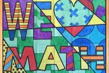 Math / Integrating art and math whenever possible!