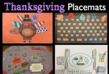 Thanksgiving / Fun ideas and resources for Thanksgiving art projects and crafts.