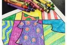 Christmas / Fun ideas and resources for holiday art projects and crafts.