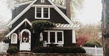 Dream Homes. / Old, quaint homes, bungalows, and cottages, with an emphasis on Tudor and Craftsman...original woodwork, fireplaces, and decorative touches, absolutely NO open floor-plans.