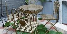 Porches, Courtyards, and Decks. / Dream porches, and courtyards.