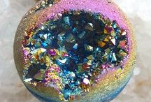 Rocks, Minerals, and Gems. / Rocks, minerals, gems, crystals.