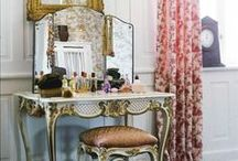 Vanities Fair. / A collection of pretty vanities and dressing tables.