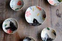 Ceramics and Porcelain. / Vessels, ring dishes, trinket bowls, sculptures, etc.