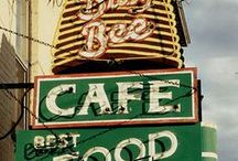 Neon. / Fabulous old neon signs.