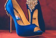 Wedding Day Shoes / Wedding shoes, wedding heels, something blue.