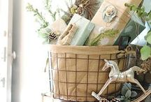 Christmas / Everything for your Holiday decoration with some cheerful accents and great ideas.