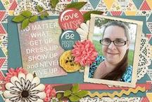 Simple Girl Scraps: Inspiring Pages / Layouts created with Simple Girl Scraps products!