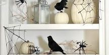 Halloween / Spooky and stylish ideas to decorate your home for Halloween. Great DIYs and some simple recipes.