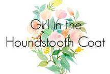 Girl in the Houndstooth Coat